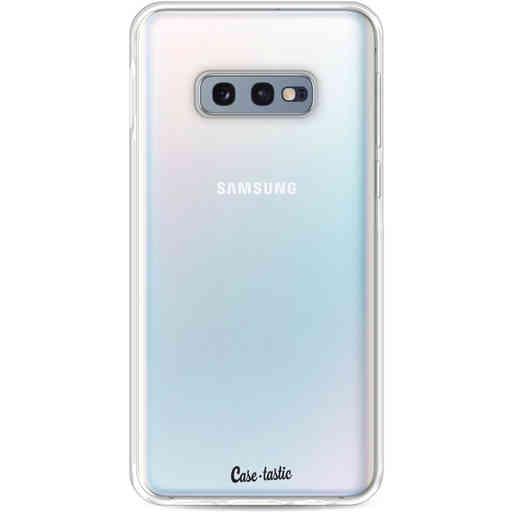 Casetastic Softcover Samsung Galaxy S10e - Transparant