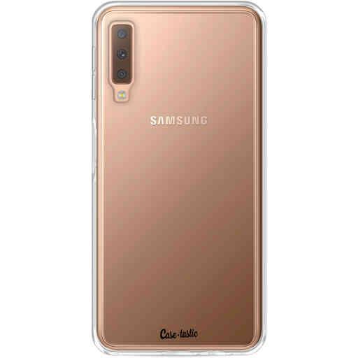 Casetastic Softcover Samsung Galaxy A7 (2018) - Transparant