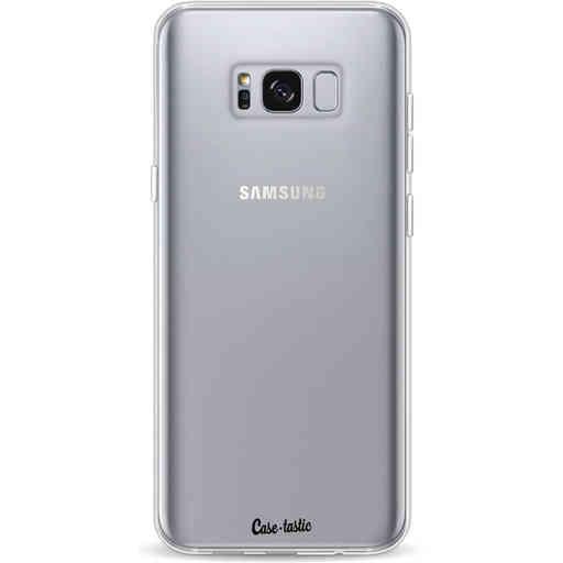 Casetastic Softcover Samsung Galaxy S8 Plus - Transparant