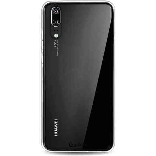 Casetastic Softcover Huawei P20 - Transparant