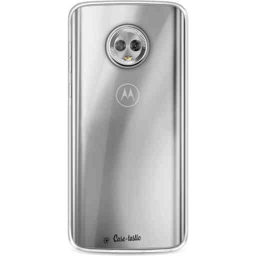 Casetastic Softcover Motorola Moto G6 - Transparant