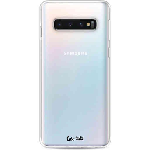 Casetastic Softcover Samsung Galaxy S10 - Transparant