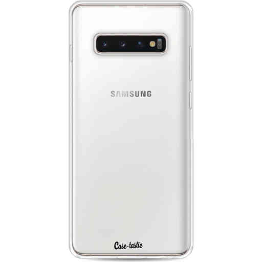 Casetastic Softcover Samsung Galaxy S10 Plus - Transparant