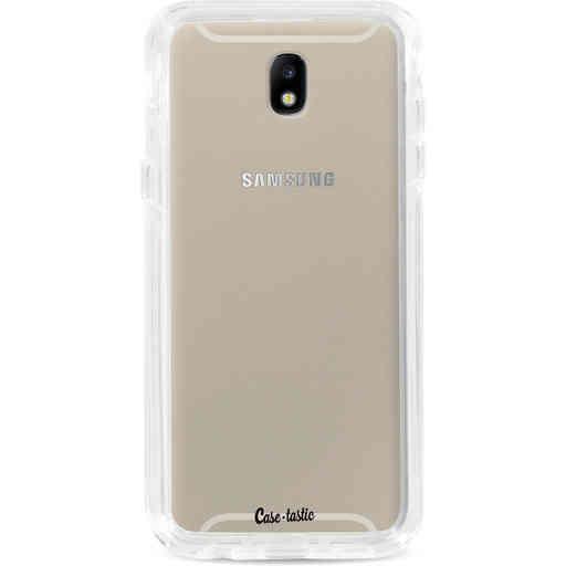 Casetastic Dual Snap Case Samsung Galaxy J7 (2017) - Transparant