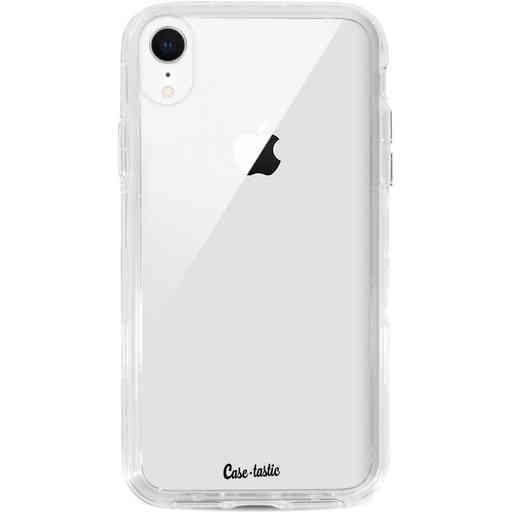Casetastic Dual Snap Case Apple iPhone XR - Transparant
