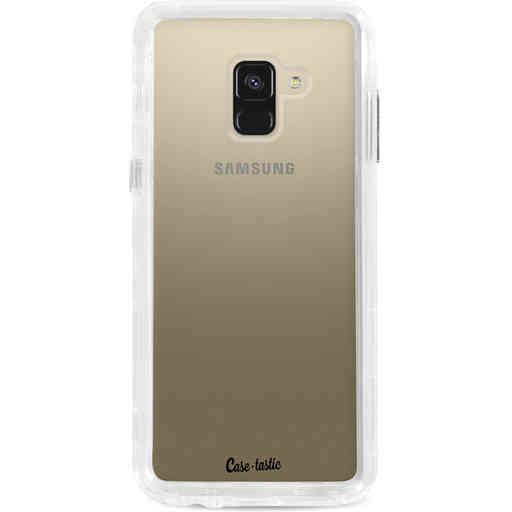 Casetastic Dual Snap Case Samsung Galaxy A8 (2018) - Transparant