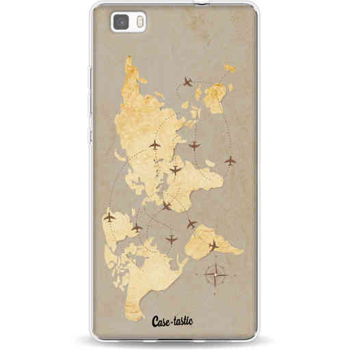 Casetastic Softcover Huawei P8 Lite - World Traveler