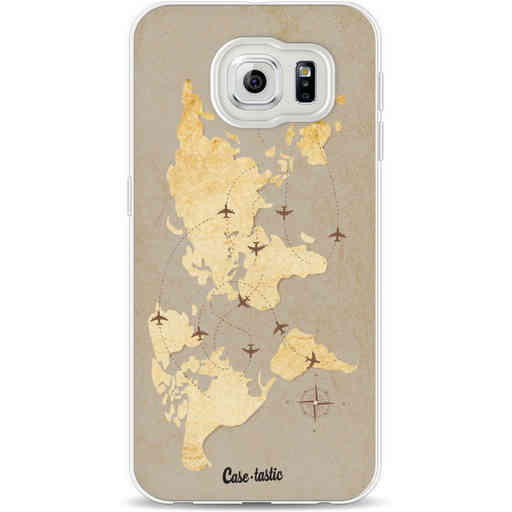 Casetastic Softcover Samsung Galaxy S6 - World Traveler