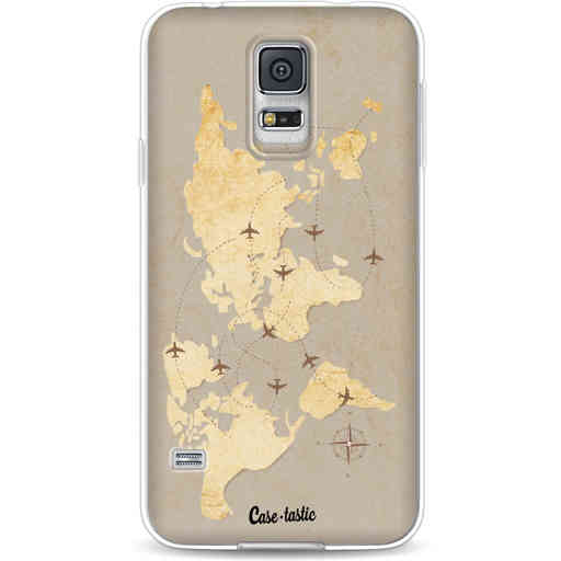 Casetastic Softcover Samsung Galaxy S5  - World Traveler