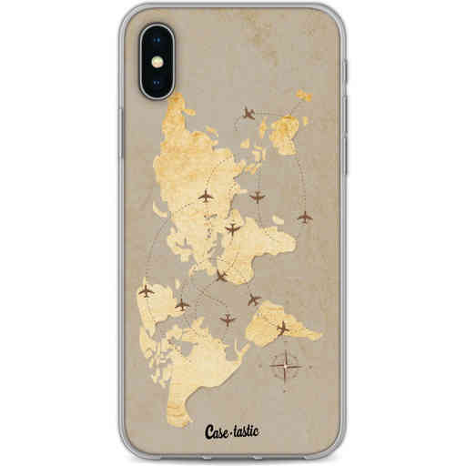 Casetastic Softcover Apple iPhone X / XS - World Traveler