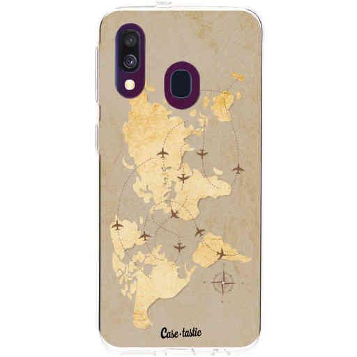 Casetastic Softcover Samsung Galaxy A40 (2019) - World Traveler