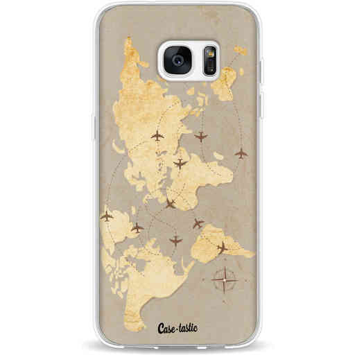 Casetastic Softcover Samsung Galaxy S7 Edge - World Traveler