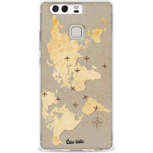 Casetastic Softcover Huawei P9 - World Traveler