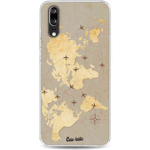 Casetastic Softcover Huawei P20 - World Traveler