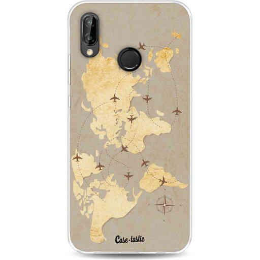 Casetastic Softcover Huawei P20 Lite - World Traveler