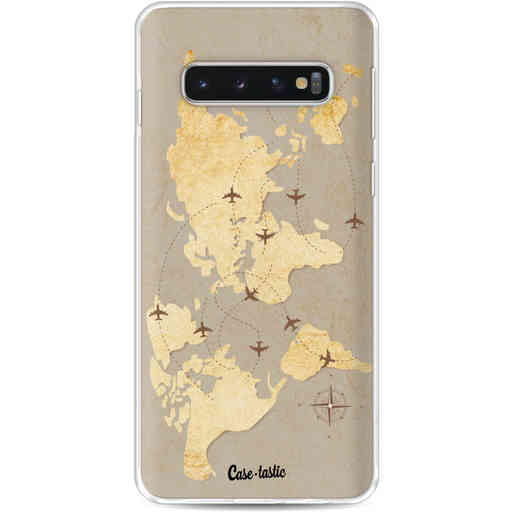 Casetastic Softcover Samsung Galaxy S10 - World Traveler