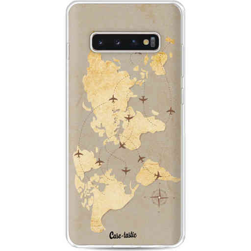 Casetastic Softcover Samsung Galaxy S10 Plus - World Traveler