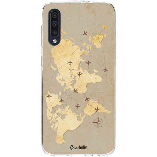 Casetastic Softcover Samsung Galaxy A50 (2019) - World Traveler