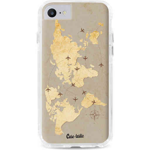 Casetastic Dual Snap Case Apple iPhone 7 / 8 - World Traveler