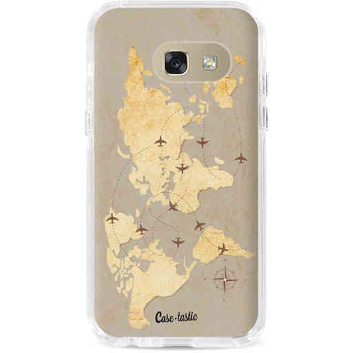 Casetastic Dual Snap Case Samsung Galaxy A3 (2017) - World Traveler