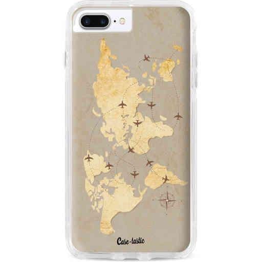 Casetastic Dual Snap Case Apple iPhone 7 Plus / 8 Plus - World Traveler