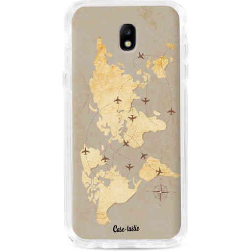 Casetastic Dual Snap Case Samsung Galaxy J7 (2017) - World Traveler