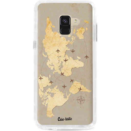 Casetastic Dual Snap Case Samsung Galaxy A8 (2018) - World Traveler