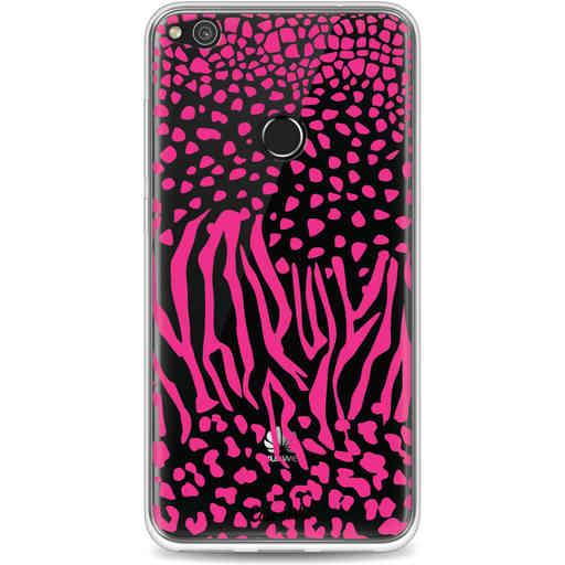 Casetastic Softcover Huawei P8 Lite (2017) - Safari Pink