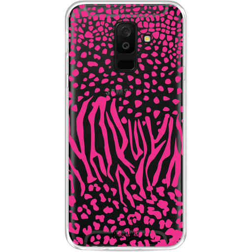 Casetastic Softcover Samsung Galaxy A6 Plus (2018) - Safari Pink