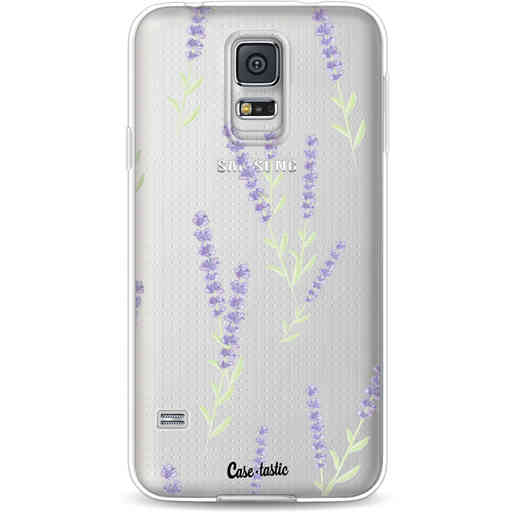 Casetastic Softcover Samsung Galaxy S5  - Wonders of Lavender