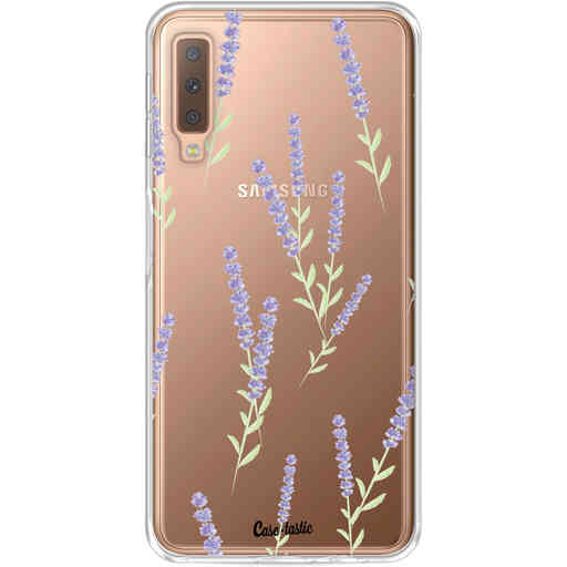 Casetastic Softcover Samsung Galaxy A7 (2018) - Wonders of Lavender