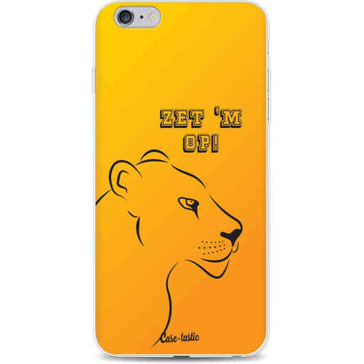 Casetastic Softcover Apple iPhone 6 Plus / 6s Plus - Oranje Leeuwinnen,  zet 'm op!