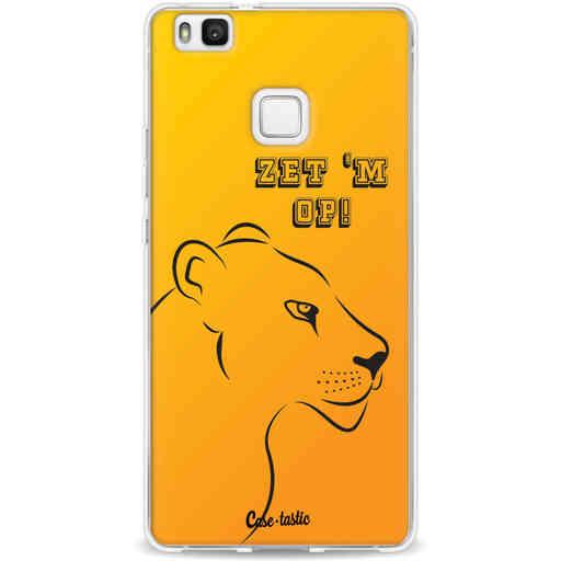 Casetastic Softcover Huawei P9 Lite - Oranje Leeuwinnen,  zet 'm op!