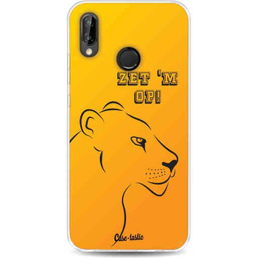 Casetastic Softcover Huawei P20 Lite - Oranje Leeuwinnen,  zet 'm op!