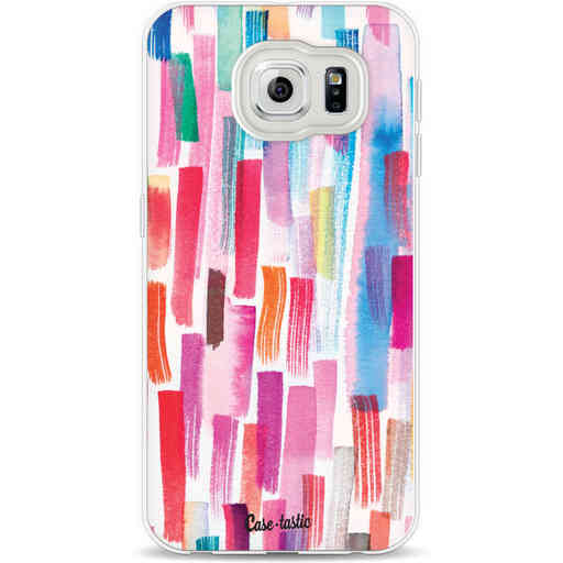 Casetastic Softcover Samsung Galaxy S6 - Colorful Strokes