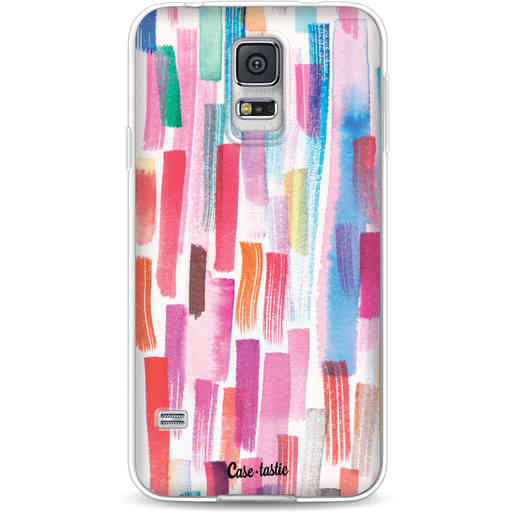 Casetastic Softcover Samsung Galaxy S5  - Colorful Strokes