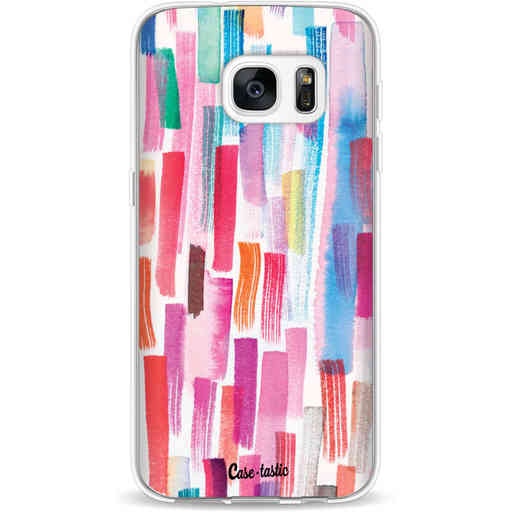 Casetastic Softcover Samsung Galaxy S7 - Colorful Strokes
