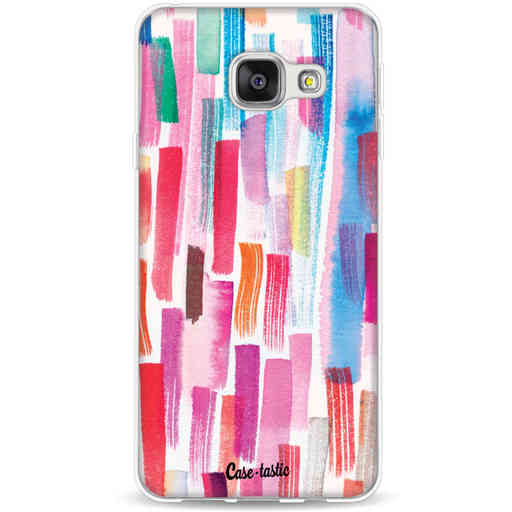 Casetastic Softcover Samsung Galaxy A3 (2016) - Colorful Strokes