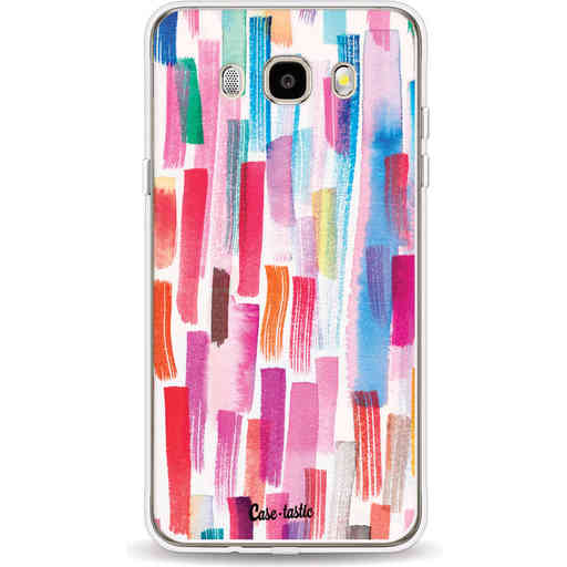 Casetastic Softcover Samsung Galaxy J5 (2016) - Colorful Strokes