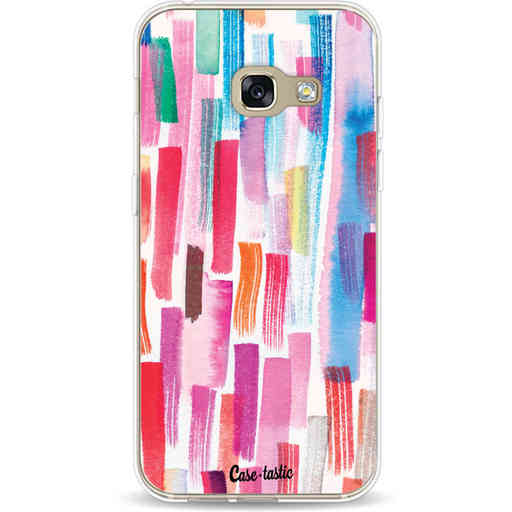 Casetastic Softcover Samsung Galaxy A3 (2017)  - Colorful Strokes