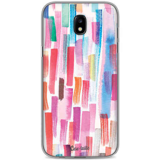 Casetastic Softcover Samsung Galaxy J5 (2017) - Colorful Strokes
