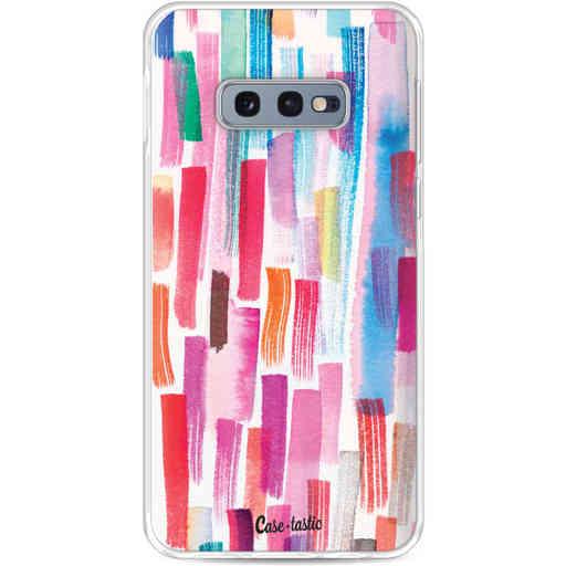 Casetastic Softcover Samsung Galaxy S10e - Colorful Strokes