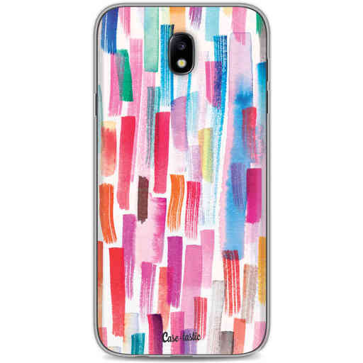 Casetastic Softcover Samsung Galaxy J7 (2017) - Colorful Strokes