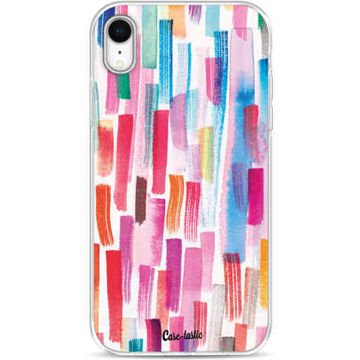 Casetastic Softcover Apple iPhone XR - Colorful Strokes