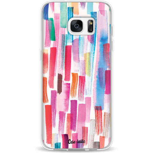 Casetastic Softcover Samsung Galaxy S7 Edge - Colorful Strokes