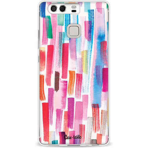 Casetastic Softcover Huawei P9 - Colorful Strokes