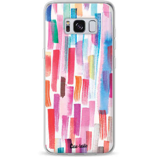 Casetastic Softcover Samsung Galaxy S8 - Colorful Strokes