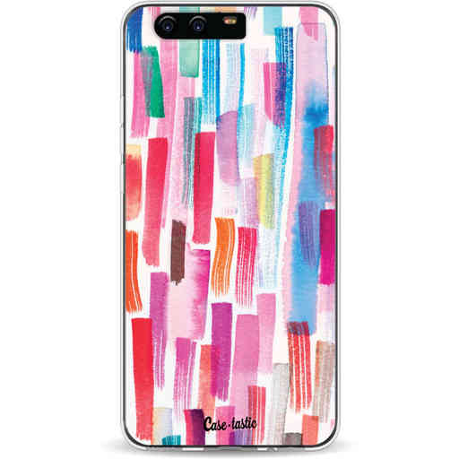 Casetastic Softcover Huawei P10 - Colorful Strokes