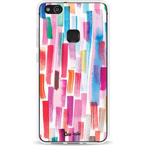 Casetastic Softcover Huawei P10 Lite - Colorful Strokes