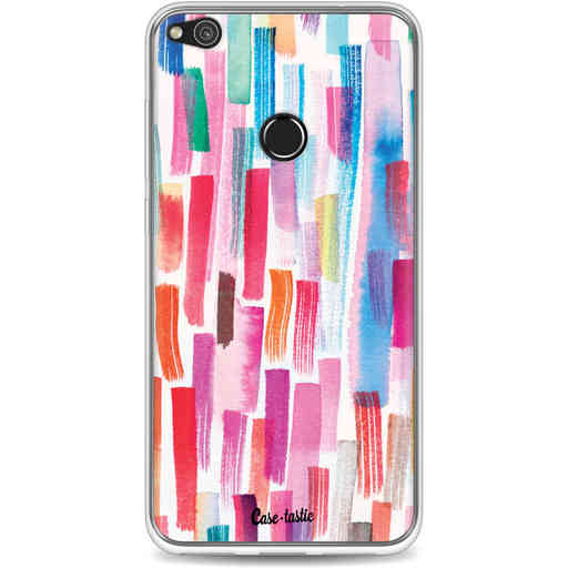 Casetastic Softcover Huawei P8 Lite (2017) - Colorful Strokes